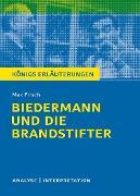 Cover-Bild zu Biedermann und die Brandstifter. Königs Erläuterungen (eBook) von Frisch, Max