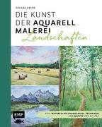 Cover-Bild zu Die Kunst der Aquarellmalerei - Landschaften von Hegde, Sushma
