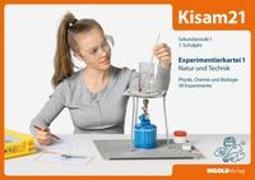 Cover-Bild zu Kisam21 - Experimentierkartei 1 - Schüler von Hutzli, Hansjürg