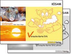 Cover-Bild zu KISAM Versuchskartei 5/6 - Lehrerbundle von Hutzli, Hansjürg