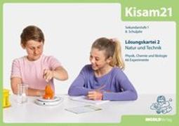 Cover-Bild zu Kisam21 - Experimentierkartei 2 - Lösungen von Hutzli, Hansjürg