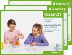 Cover-Bild zu Kisam21 - Experimentierkartei 2 - 3er-Set von Hutzli, Hansjürg