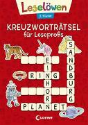 Cover-Bild zu Leselöwen Kreuzworträtsel für Leseprofis - 2. Klasse (Rot) von Loewe Lernen und Rätseln (Hrsg.)