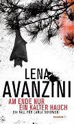 Cover-Bild zu Avanzini, Lena: Am Ende nur ein kalter Hauch