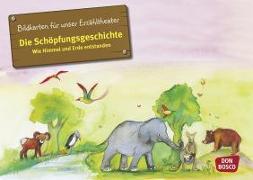 Cover-Bild zu Die Schöpfungsgeschichte. Wie Himmel und Erde entstanden. Kamishibai Bildkartenset von Brandt, Susanne