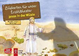 Cover-Bild zu Jesus in der Wüste. Kamishibai Bildkartenset von Hitzelberger, Peter