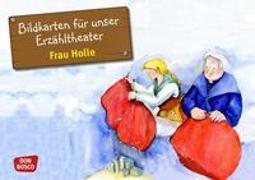 Cover-Bild zu Bildkarten für unser Erzähltheater: Frau Holle von Lefin, Petra (Illustr.)