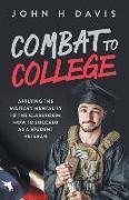 Cover-Bild zu Combat To College (eBook) von Davis, John