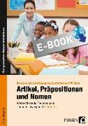 Cover-Bild zu Artikel, Präpositionen und Nomen - Einkaufen 3/4 (eBook) von Herkt, Nina