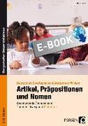 Cover-Bild zu Artikel, Präpositionen und Nomen - Einkaufen 1/2 (eBook) von Herkt, Nina