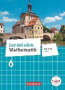 Cover-Bild zu Lernstufen Mathematik, Mittelschule Bayern 2017, 6. Jahrgangsstufe, Schülerbuch von Berkemeier, Helga