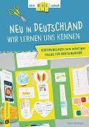 Cover-Bild zu Mein DaZ-Lapbook: Neu in Deutschland - wir lernen uns kennen von Blumhagen, Doreen