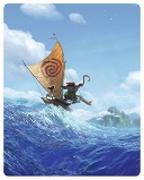Cover-Bild zu Clements, Ron (Reg.): Vaiana - 3D+2D - Steelbook - limitierte Auflage