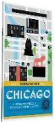 Cover-Bild zu De Tessan, Christina Henry: City Scratch-Off Map: Chicago: A Sightseeing Scavenger Hunt