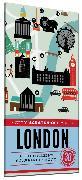 Cover-Bild zu Henry de Tessan, Christina: City Scratch-Off Map: London