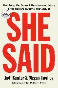 Cover-Bild zu Kantor, Jodi: She Said