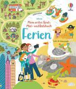 Cover-Bild zu Mein erstes Spiel-, Mal- und Ratebuch: Ferien von Gilpin, Rebecca
