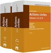 Cover-Bild zu Commentaire pratique Actions civiles von Bohnet, François