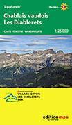 Cover-Bild zu Chablais vaudois - Les Diablerets 1:25'000