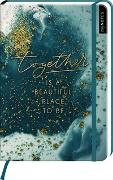 Cover-Bild zu myNOTES Notizbuch A5: Together is a beautiful place to be