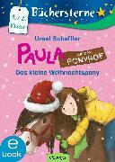 Cover-Bild zu Paula auf dem Ponyhof. Das kleine Weihnachtspony (eBook) von Scheffler, Ursel