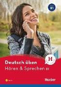 Cover-Bild zu Deutsch üben Hören & Sprechen B1 von Billina, Anneli