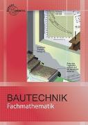 Cover-Bild zu Fachmathematik Bautechnik von Frey, Hansjörg
