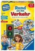 Cover-Bild zu Ravensburger Lernspiel Rund um den Verkehr 24997, Kinderspiel, ab 5 Jahren, für 2-4 Spieler von Haferkamp, Kai