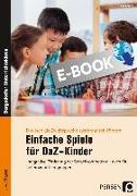 Cover-Bild zu Einfache Spiele für DaZ-Kinder (eBook) von Salber, Eva