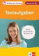 Cover-Bild zu 10-Minuten-Training Mathematik Textaufgaben 5. Klasse