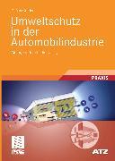 Cover-Bild zu Umweltschutz in der Automobilindustrie (eBook) von Gruden, Dusan