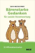 Cover-Bild zu Bärenstarke Gedanken für soziale Verantwortung von Baisch-Zimmer, Saskia