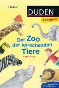 Cover-Bild zu Duden Leseprofi - Der Zoo der sprechenden Tiere, 1. Klasse von Naoura, Salah