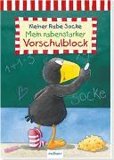 Cover-Bild zu Der kleine Rabe Socke: Mein rabenstarker Vorschulblock von Rudolph, Annet (Illustr.)