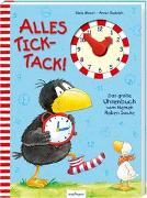 Cover-Bild zu Der kleine Rabe Socke: Alles Tick-Tack! Das große Uhrenbuch vom kleinen Raben Socke von Moost, Nele