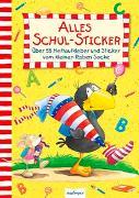 Cover-Bild zu Der kleine Rabe Socke: Alles Schul-Sticker von Rudolph, Annet (Illustr.)