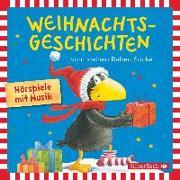 Cover-Bild zu Weihnachtsgeschichten vom kleinen Raben Socke von Moost, Nele