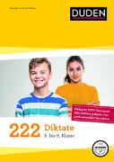 Cover-Bild zu 222 Diktate - 5. bis 8. Klasse von Bley, Maria
