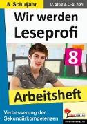 Cover-Bild zu Wir werden Leseprofi 8 - Arbeitsheft (eBook) von Stolz, Ulrike