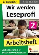Cover-Bild zu Wir werden Leseprofi 2 - Arbeitsheft (eBook) von Stolz, Ulrike