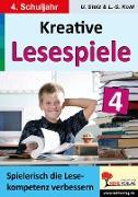 Cover-Bild zu Kreative Lesespiele zur Verbesserung der Lesekompetenz 4 (eBook) von Stolz, Ulrike