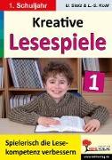 Cover-Bild zu Kreative Lesespiele zur Verbesserung der Lesekompetenz 1 (eBook) von Stolz, Ulrike