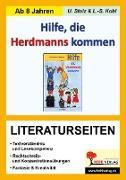 Cover-Bild zu Hilfe die Herdmanns kommen - Literaturseiten (eBook) von Stolz, Ulrike