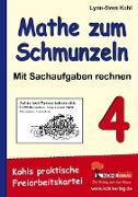 Cover-Bild zu Mathe zum Schmunzeln - Sachaufgaben, 4. Schuljahr (eBook) von Kohl, Lynn S