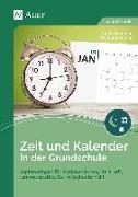 Cover-Bild zu Zeit und Kalender in der Grundschule von Sommer, Sandra