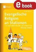 Cover-Bild zu Evangelische Religion an Stationen (eBook) von Sommer, Sandra