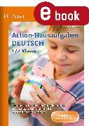 Cover-Bild zu Action-Hausaufgaben Deutsch 1+2 (eBook) von Sommer, Sandra