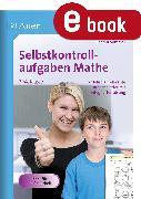 Cover-Bild zu Selbstkontrollaufgaben Mathe für die 3.-4. Klasse (eBook) von Sommer, Sandra