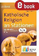 Cover-Bild zu Katholische Religion an Stationen 5-6 Inklusion (eBook) von Sommer, Sandra