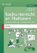 Cover-Bild zu Sachunterricht an Stationen Spezial Familie von Sommer, Sandra